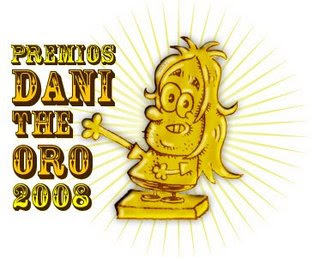 Premios DANI THE ORO 2008