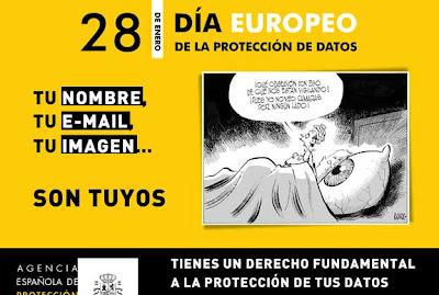 Anuncio Día Europeo de la Protección de Datos