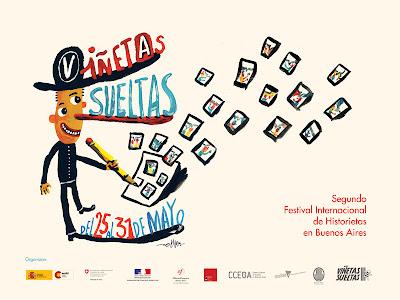 Viñetas Sueltas 2009, afiche de Liniers