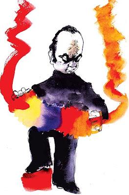Astor Piazzolla por Hermenegildo Sábat