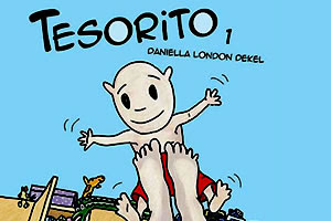Portada de Tesorito 1, el libro de Daniella London Dekel