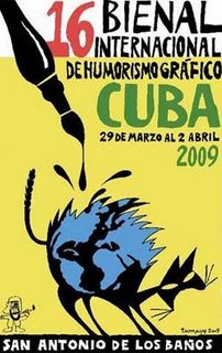 XVI Bienal Internacional de Humorismo Gráfico de San Antonio de los Baños (Cuba)