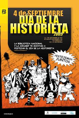 Día de la Historieta en la Biblioteca Nacional