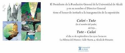 En nombre del Padre, del Hijo... la expo de Caloi y Tute en Alcalá de Henares