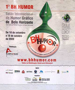1° Salón Internacional del Humor Gráfico BH-Humour 2009