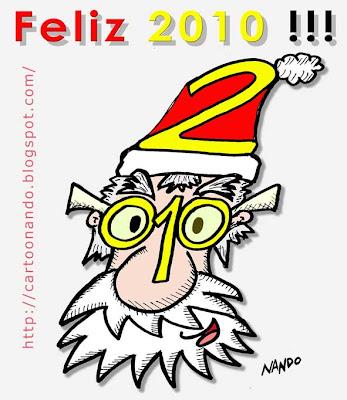 Tarjeta Feliz Año Nuevo 2010 por Nando