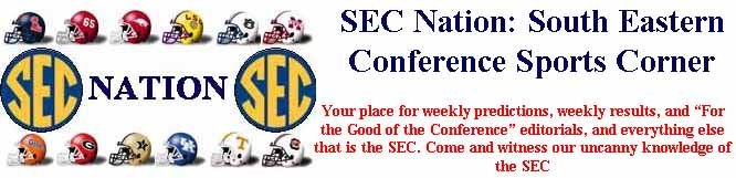 SEC Nation: South Eastern Conference Sports Corner