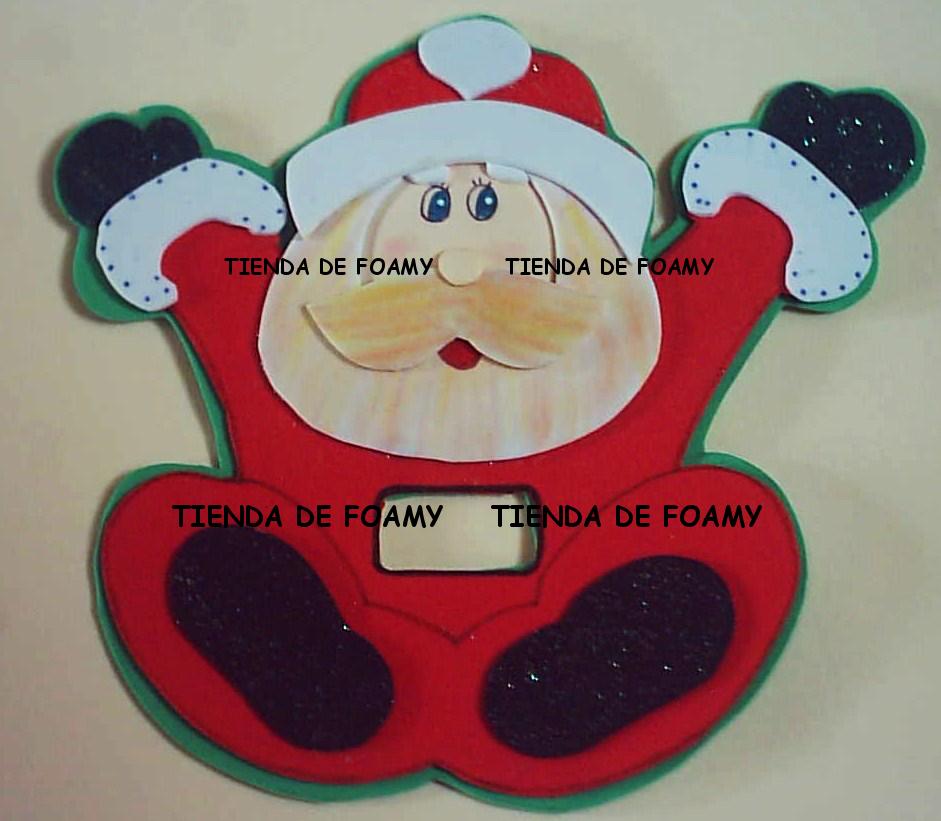Tienda de foamy adornos navide os para los apagadores - Manualidades para navidades ...