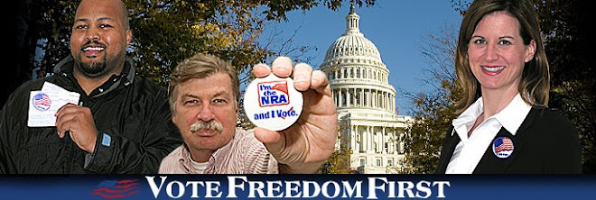 <b>NRA: Vote Freedom First</b>