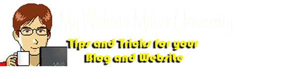 My Web Site Maker University