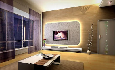 Living Room Modern Decorating Style