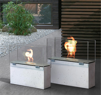 Conmoto Outdoor Fireplace