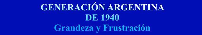 Generación Argentina de 1940