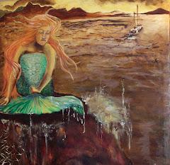 A mermaid's sadness