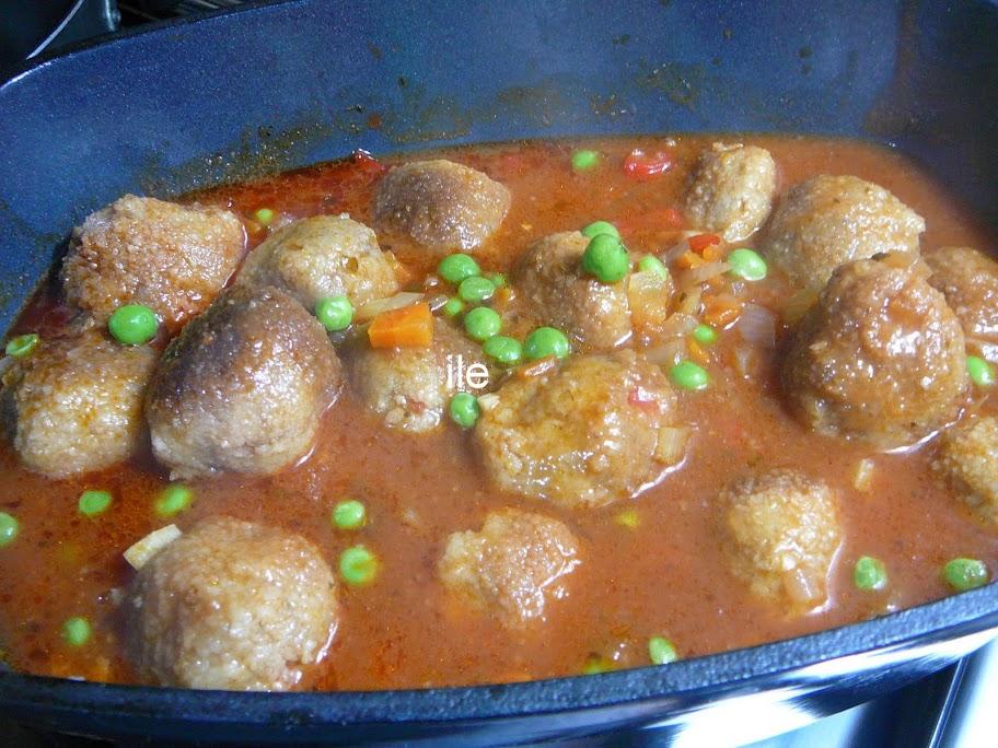 Ile recetas como hacer albondigas en salsa - Acompanamiento para albondigas ...