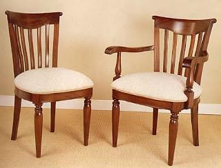 El blog de demarques sillas cl sicas tapizadas - Sillas de salon clasicas ...