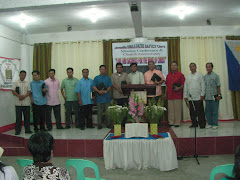 Mission Conf. with local Missionaries