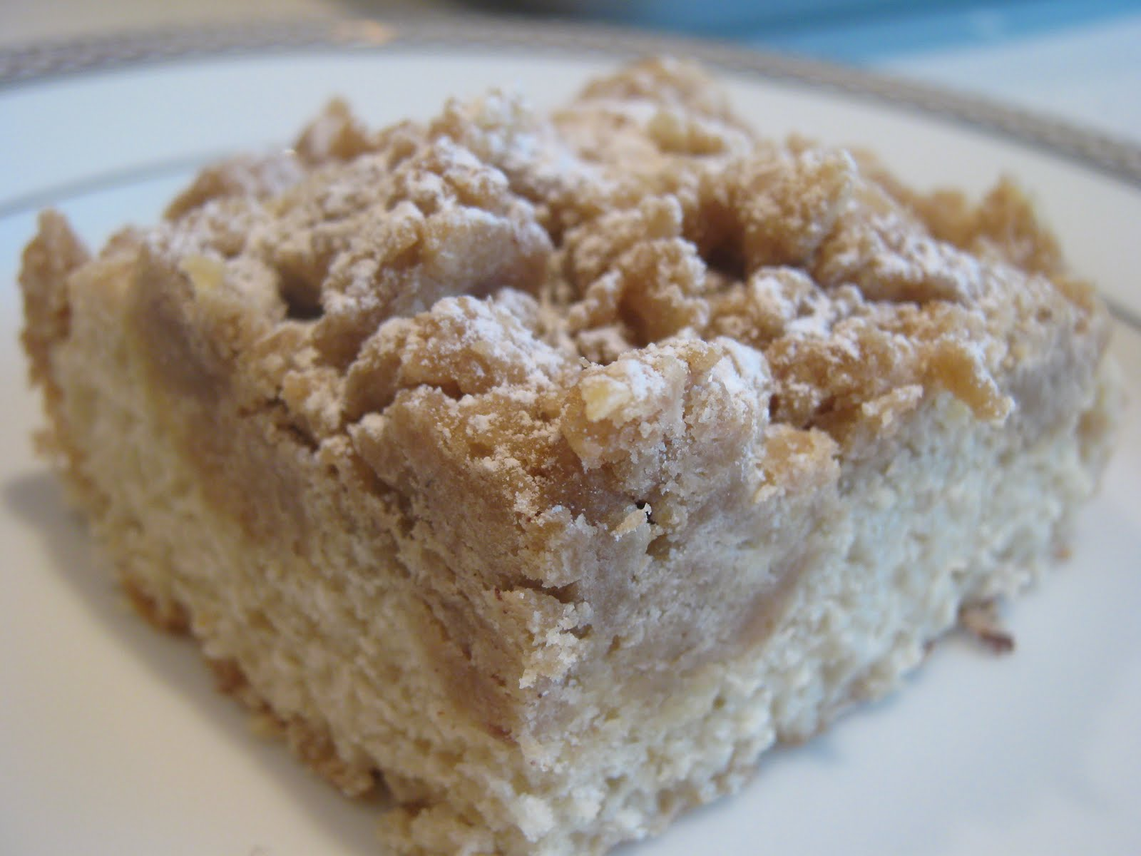 for new york crumb cake with almost all positive reviews