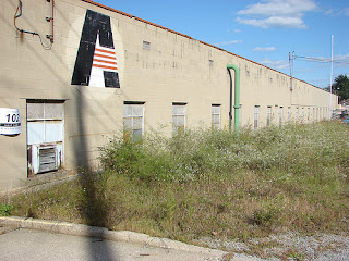 Closed Amweld plant in Niles, Ohio, Oct., 2008