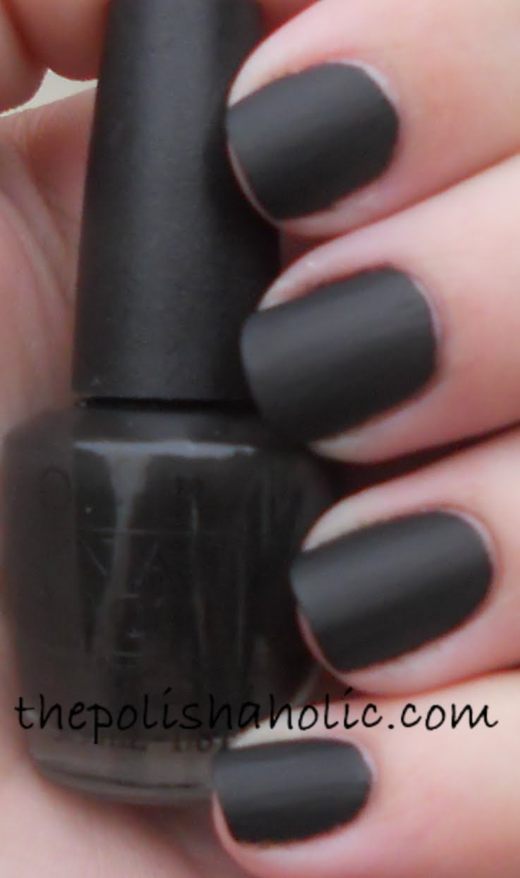 The PolishAholic: OPI Go Goth
