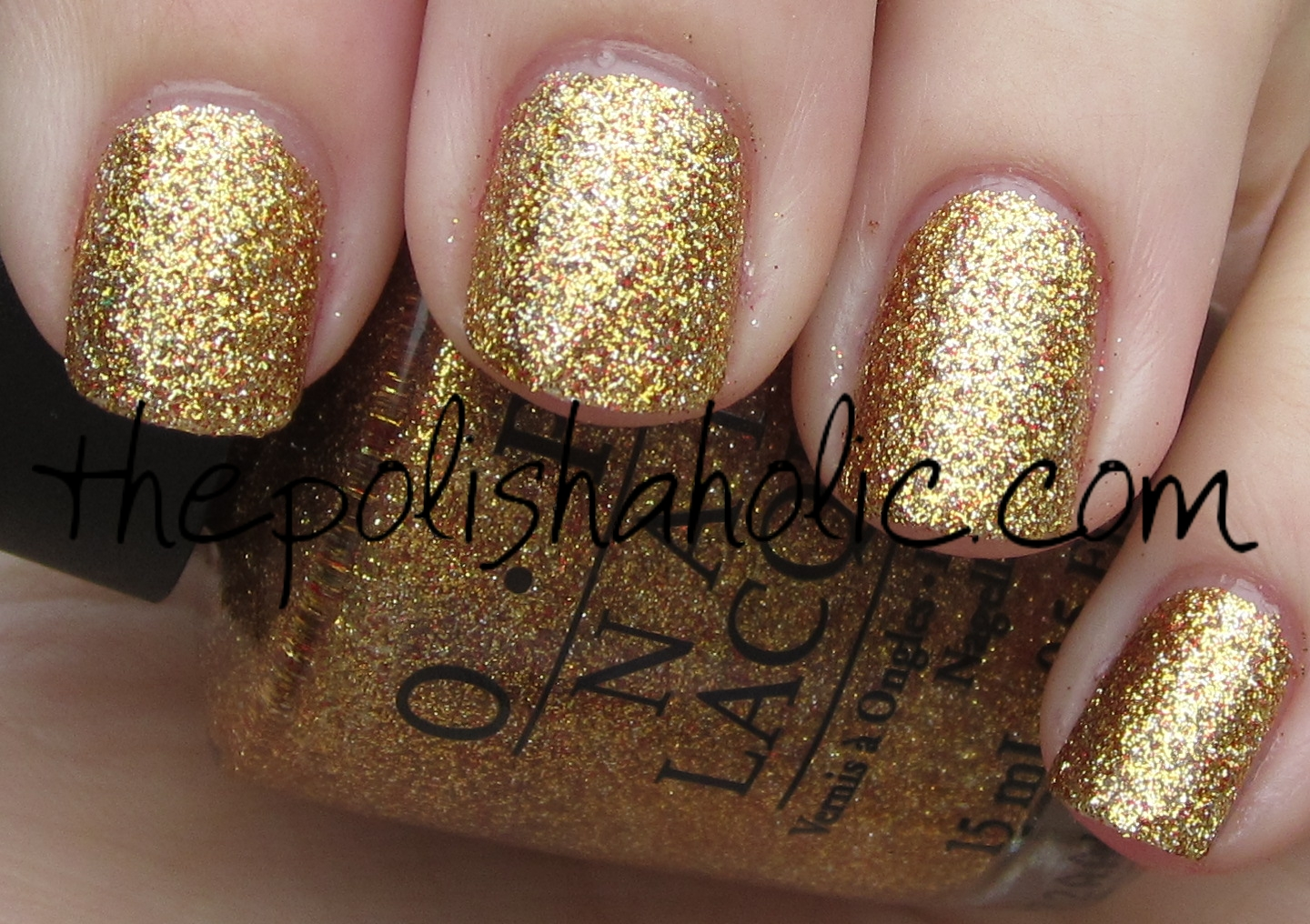 The PolishAholic: OPI- Gift of Gold (Ulta Holiday Exclusive)