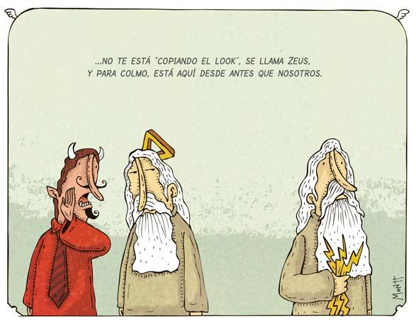 Humor gráfico sobre las religiones y dioses - Página 2 Zeus