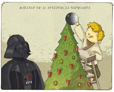Alberto Montt: Navidad en casa de los Skywalker