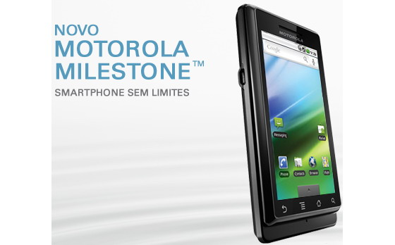 Motorola Milestone now reaches Brazil