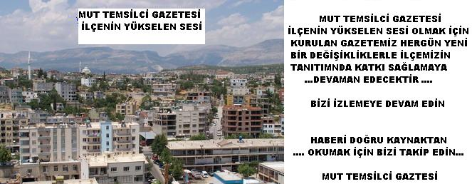 MUT TEMSİLCİ GAZETESİ