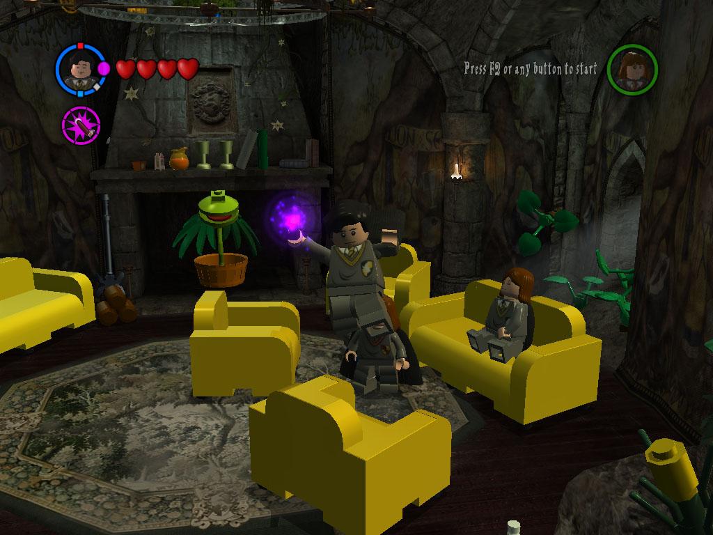 SueUptonogood: HUFFLEPUFF COMMON ROOM from New Lego Harry Potter ...