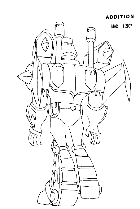 Sentinel prime colouring pages for Transformers sentinel prime coloring pages