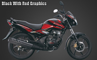 black with red graphics, unicorn