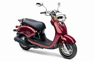 Yamaha Scooter, vino