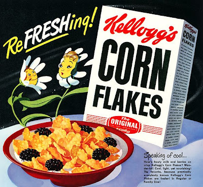 an analysis of will kelloggs invention of cornflakes Marketing analysis: kellogg cornflakes  a package of 475 grams of kellogg's corn flakes cost 130 inr which is considered to be pretty high from the indian .