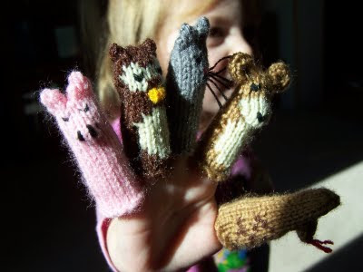 Five Star Finger Puppets