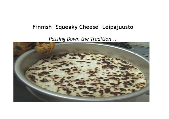 Finnish Squeaky Cheese - Juusto