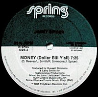 Old School Music: Jimmy Spicer - Money (Dollar Bill Y'