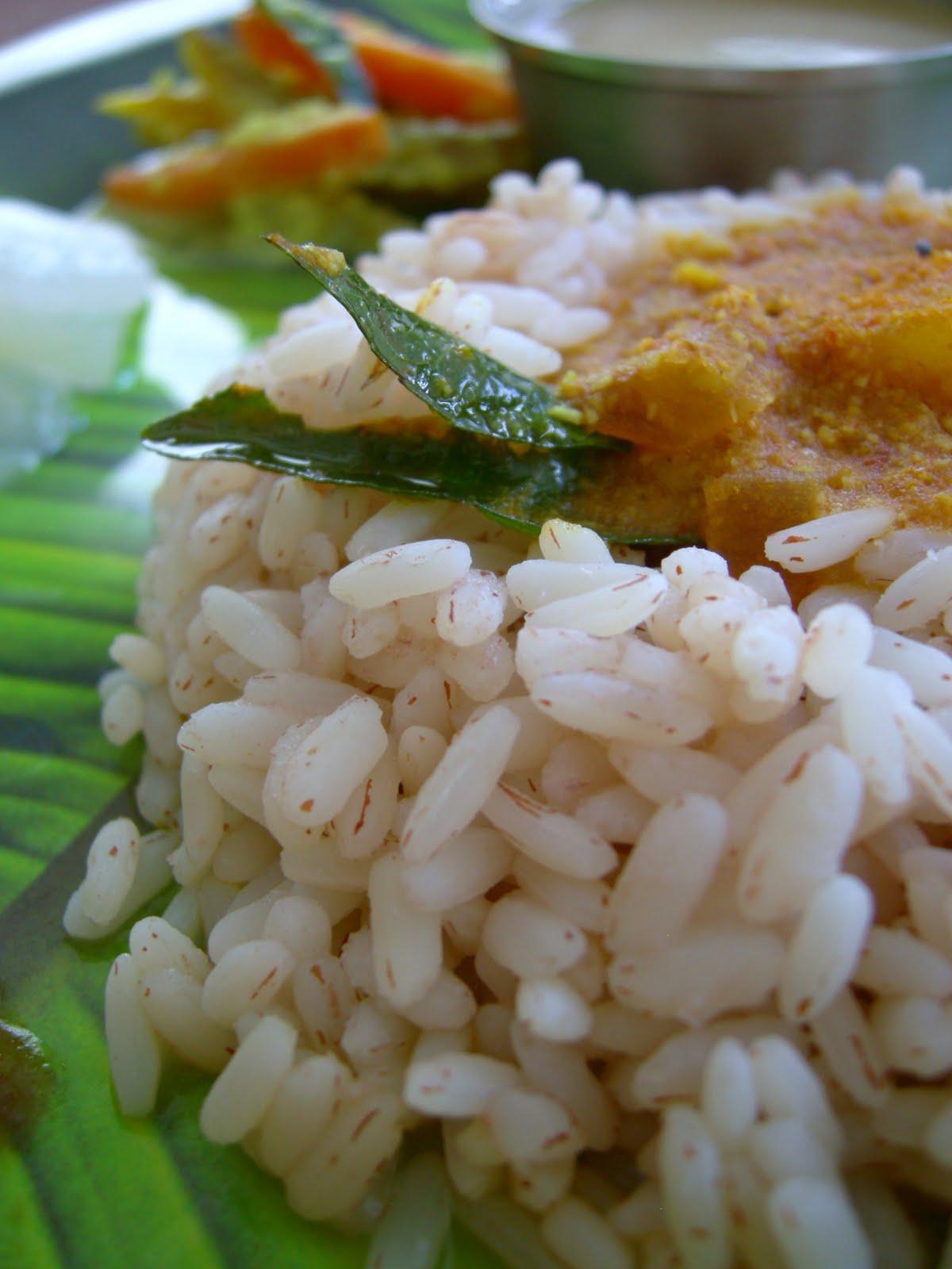 how to cook matta rice