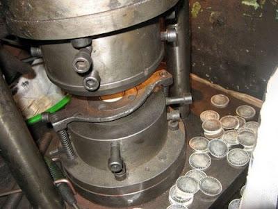 Chinese Silver Dollar Counterfeit Machine