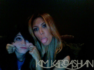 Blonde  Kardashian on Entertainment Buzz  Kim Kardashian Blonde
