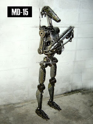 art from steel 69 Hand Made Recycled Statues