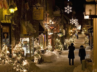 its a beautiful city unlike any other in canada or even north america the pictures of the city during christmas time are enchanting