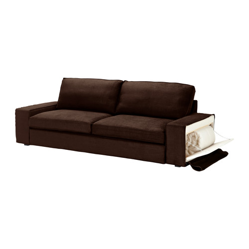 Kivik loveseat and chaise lounge for Brown chaise sofa bed