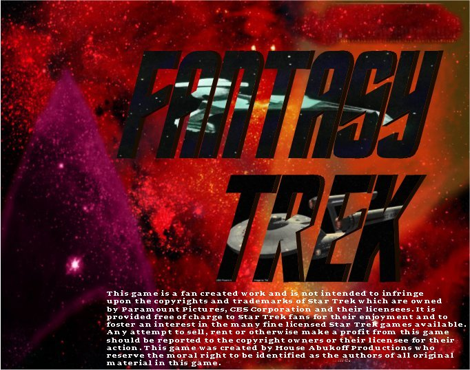 Fantasy Trek: Not Just A Game: It's a Star Trek Experience