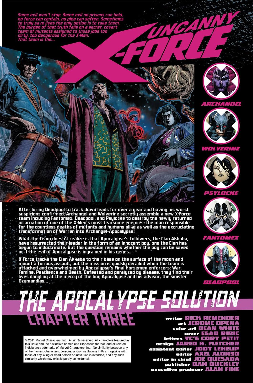 Uncanny X-Force (2010) Issue #3 #3 - English 2