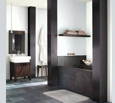 Bathroom Ideas  Small Bathrooms on Like My Bathrooms Like My Men  Black  Dark And Swarthy