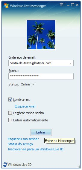 APRENDA A FAZER UM MSN