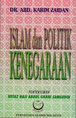 ISLAM DAN POLITIK KENEGARAAN