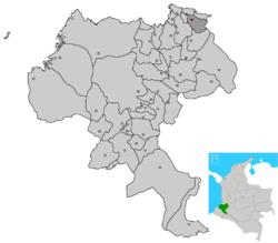 UBICACION CORINTO CAUCA