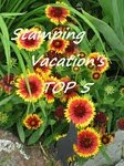 Thank you Stamping Vacation for choosing my card for Top 5